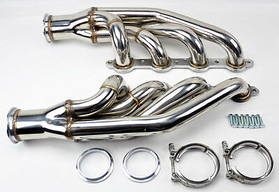 Header Manifold LS1 LS6 LSX GM V8 Chevy Up & Forward Turbo Headers Manifold