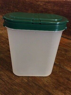 💟 Tupperware Modular Mates: LARGE Spice Container - HUNTER GREEN