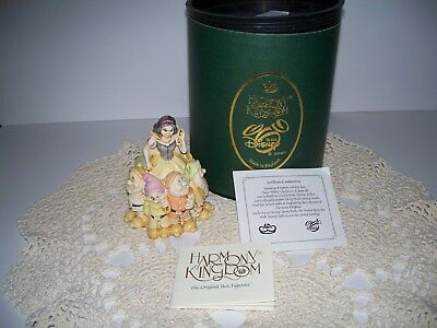 Harmony Kingdom Snow White The Fairest Of Them All With Certificate Of Authentic