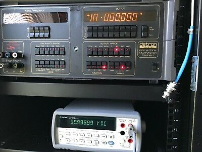 Agilent-HP-Keysight 34401A DMM, 6½ Digit *Tested* Round Buttons S/N MY47015386