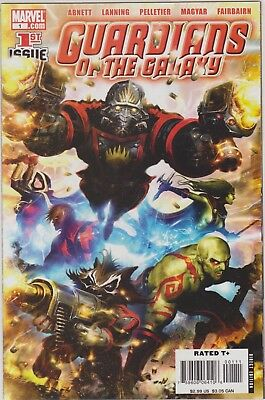 Guardians of the Galaxy (2008) #1 NM, MARVEL Comics. Infinity, Groot Star Lord.