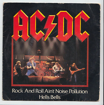 AC/DC - Rock And Roll Ain't Noise Pollution / Hells Bells