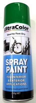 Ultracolor Emerald Green Spray Paint 250G Can - Internal & External Applications