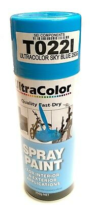 Ultracolor Sky Blue Spray Paint 250G Can - Internal & External Applications