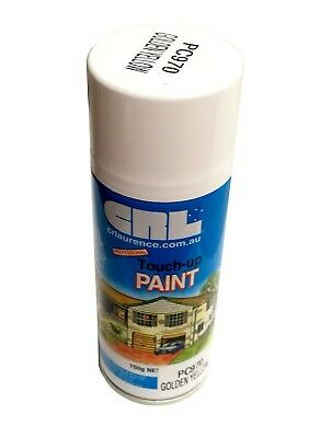 Crl Golden Yellow Gloss Spray Paint 150G Can - Touch Up Internal & External