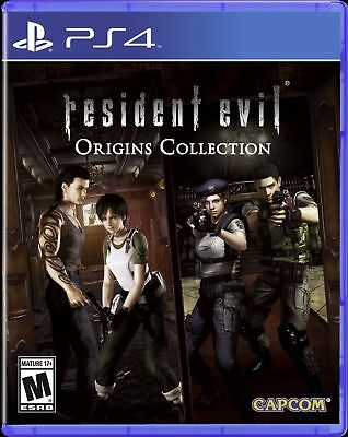 Resident Evil Origins Collection HD (PlayStation 4) BRAND NEW! FACTORY SEALED!