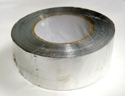 Fridge / Refrigeration Aluminium Foil Tape - Silver - 48Mm X 45M - Universal Use