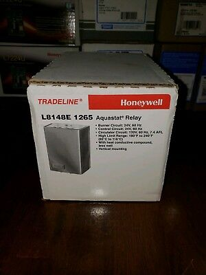 Honeywell L8148E 1265 Aquastat Relay