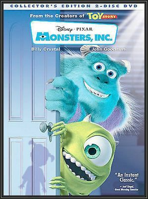 MONSTERS,INC. (DVD,2002,2-Disc Collectors Edition)