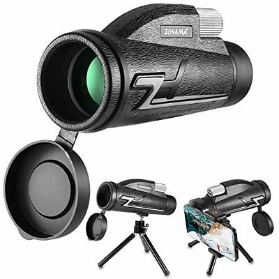 Compact Monocular for Adults Kids, Monocular Telescope High Power 16 x 50 Prism