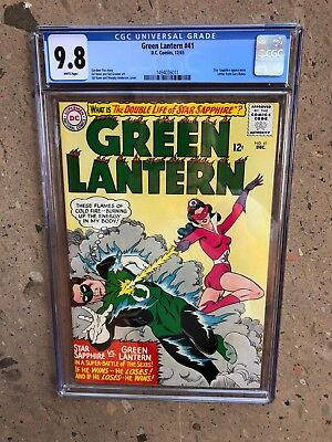 Green Lantern 41 !!cgc 9.8 !! Highest Graded !! Thee Best !! White Pages !!