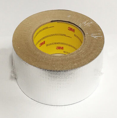 3M Fridge / Refrigeration Reinforced Aluminium Foil Tape 74Mm Wide - 50M Roll