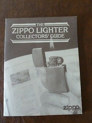"""""""The Zippo Lighter Collectors Guide"""" Booklet, with Codes & Dates Thru 1990 ('87)"""