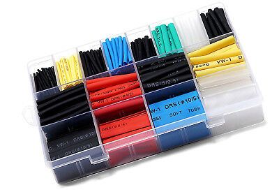Heat Shrink Assortment Kit - Universal Application - 7 Different Popular Sizes