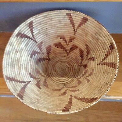 Apache Or Navajo Native American Indian Basket Nice and large and MINT