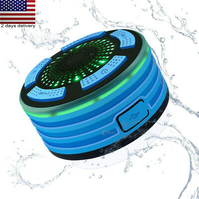Waterproof Bluetooth Speaker Mini Wireless Shower Radio Suction Cup Stereo New