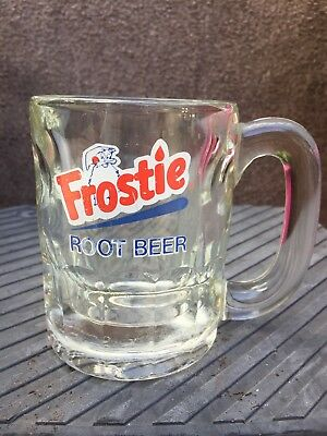 8oz Frostie Root Beer Thick Heavy Glass Mug