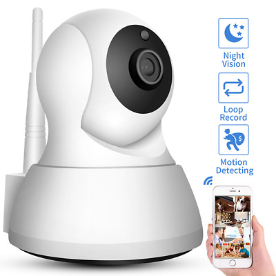 HD 720P Wireless Wifi Security IP Camera Baby /Pet Cam with iOS/Android Pan Tilt