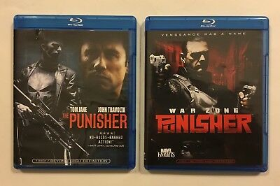 The Punisher/Punisher: War Zone Blu Ray