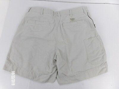 "Columbia Sportswear Men's 38"" Actual Flat Front Hiking Shorts Cotton Tag 40"""