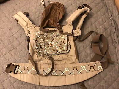Ergobaby ERGO Organic Baby Carrier - Taupe color