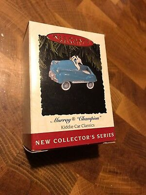 Hallmark Christmas Ornament MURRAY CHAMPION Kiddie Car Classics NEW 1994