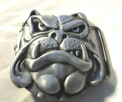 Bulldog Belt Buckle pre-owned in as new condition.