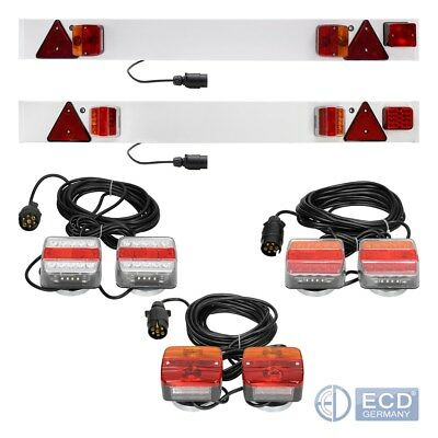 LED trailer towing lightboard magnetic LED light board lamps rear lights sets