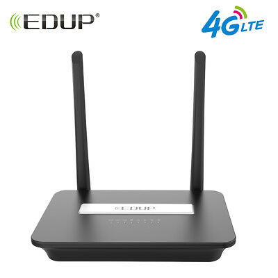 EDUP EP-N9522 300Mbps Wireless N 3G 4G LTE Router SIM Card Slot WIFI WAN Port