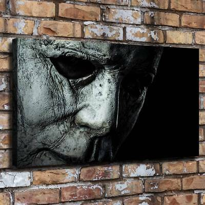 Halloween Horror Face HD Canvas prints Painting Home Room Decor Picture Wall art