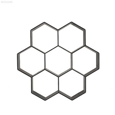4683 Hexagon Driveway Paving Pavement Stone Mold Stepping Pathmate Mould Paver