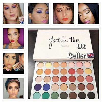 Jaclyn Hill Pro Morphe x Beauty Highlighting Powder Eyeshadow Palette UK New