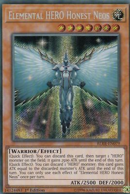 Yugioh | Elemental HERO Honest Neos - BLRR-EN079 - Secret Rare - NM