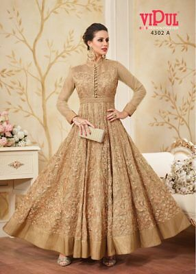 Indian anarkali salwar kameez suit bollywood pakistani designer ethnic wedding 4