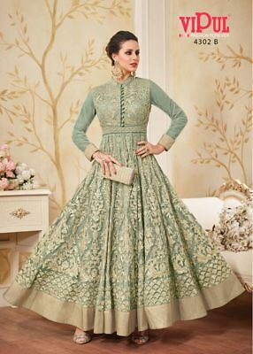 Indian anarkali salwar kameez suit bollywood pakistani designer ethnic wedding 1