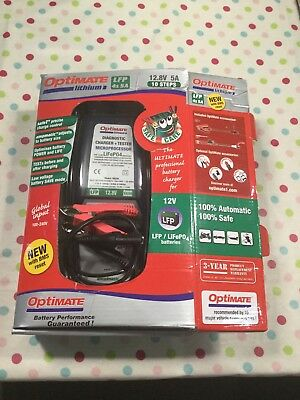 Latest generation Optimate Lithium battery charger - used karting /  Rotax