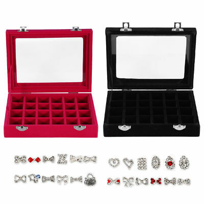 New Empty Storage Container Box Case for Nail Art Tips Rhinestone Gems Tool