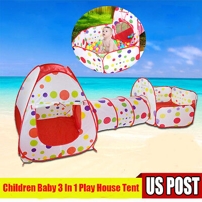 Portable Indoor Outdoor Kids Baby Child Game Play Toys Tent Ocean Ball Pit Pool