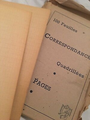 Lot Of Rare French Vintage Graph Paper Perfect For Art/Craft Projects, Beautiful