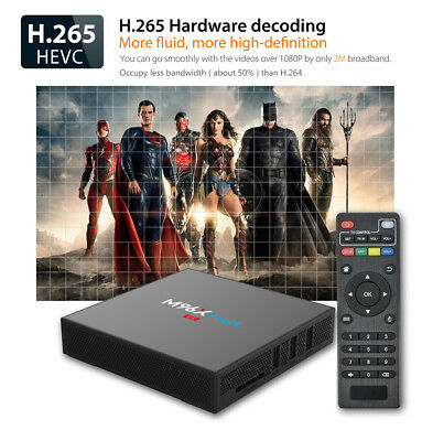 M96X TV Box PLUS Android Amlogic S912 2GB 16GB 2.4G+5G Wifi BT4.0 LAN1000M 4K