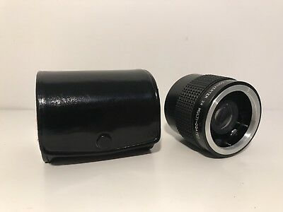 Polysales Auto Tele Converter 3 x Multi-Coated Lens with Case