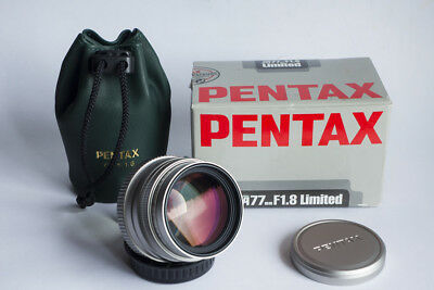 Pentax 77mm f 1.8 Limited Made in Japan prima serie VERDE