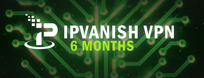 IpVanish VPN  (6 months subscription, 6 months warranty) (VPN account warranty)