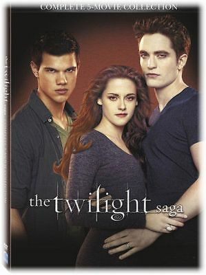 The Twilight Saga: Complete 5-Movie Collection DVD