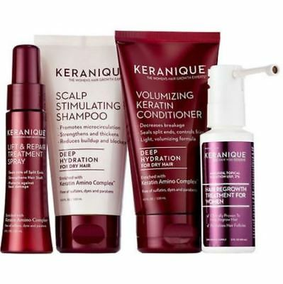 Keranique Regrowth Treatment NO BOX - Deep Hydration Kit NEW SEALED PRODUCTS.