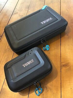 2 x Thule Hard Cases, Ideal for accessories and cables