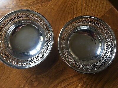A Pair Of Irish Silver Dishes