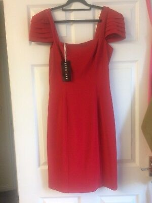 BRAND NEW WITH TAGS BERNSHAW red Cocktail Dress 10