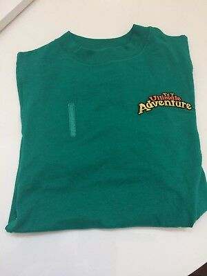 Awana T&T Ultimate Adventure Green T-shirt  Youth Small