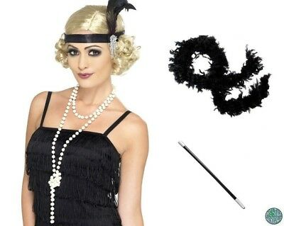 1920's Peaky Blinders Flapper Gatsby Downton Abby Fancy Dress Costume Accessory